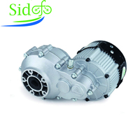 BM1424HQF 2200W 1500W 72V 60V DC Brushless Differential Motor Electric Tricycle Rear Axle Motor E Bike Conversion 02