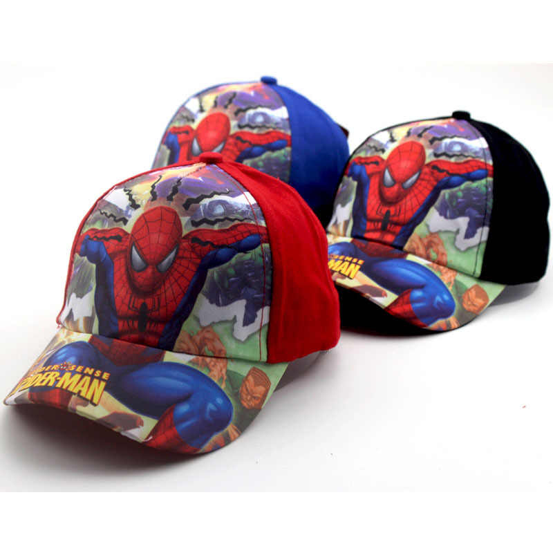 5852119ad9a Detail Feedback Questions about Autumn Winter New Cartoon Anime Super Hero  Spiderman Adjustable Baseball Caps For Children Boy Hip Hop Hats Cap on ...