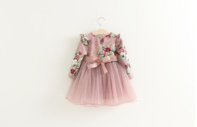 New Baby Long Sleeve Dress
