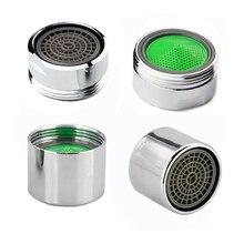 1 шт. ABS водосберегающий кухонный аэратор для крана-смесителя хромированный водопроводной фильтр внешний/внутренний резьбовые смесители носики