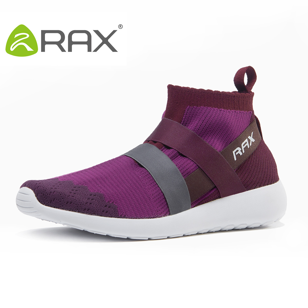 Rax Running Shoes For Women Lighweight Mesh Running Boots Female Breathable Sports Zapatillas Mujer B2818W
