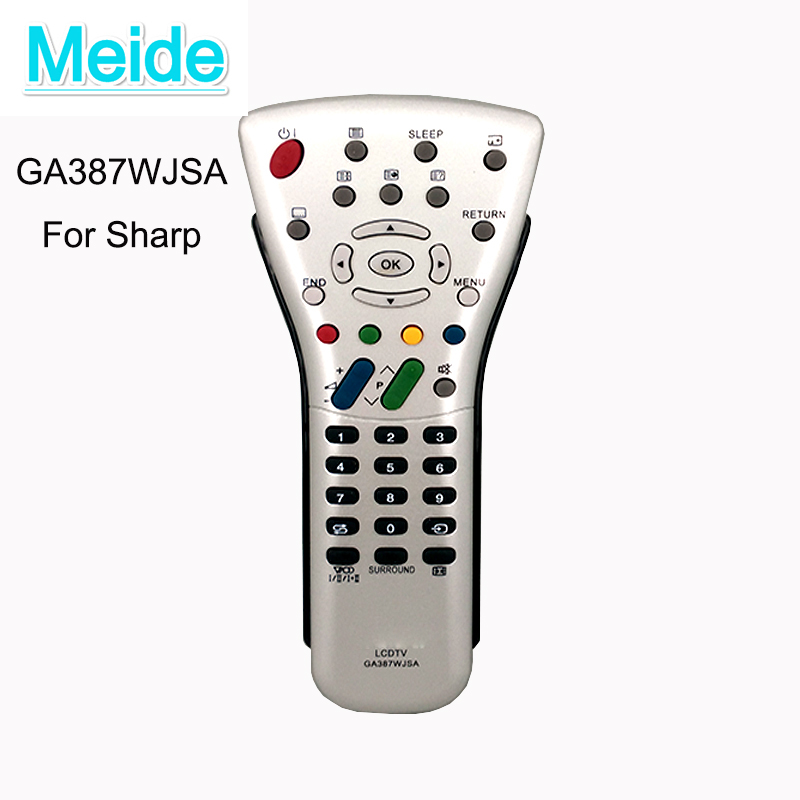 Hot New Remote control GA387WJSA FOR Sharp LCD TV GA085WJSA GA406WJSA GA438WJSA remote Telecommande Fernbedienung new for panasonic tv remote pan 918 for n2qayb000485 n2qayb000100 n2qayb000221