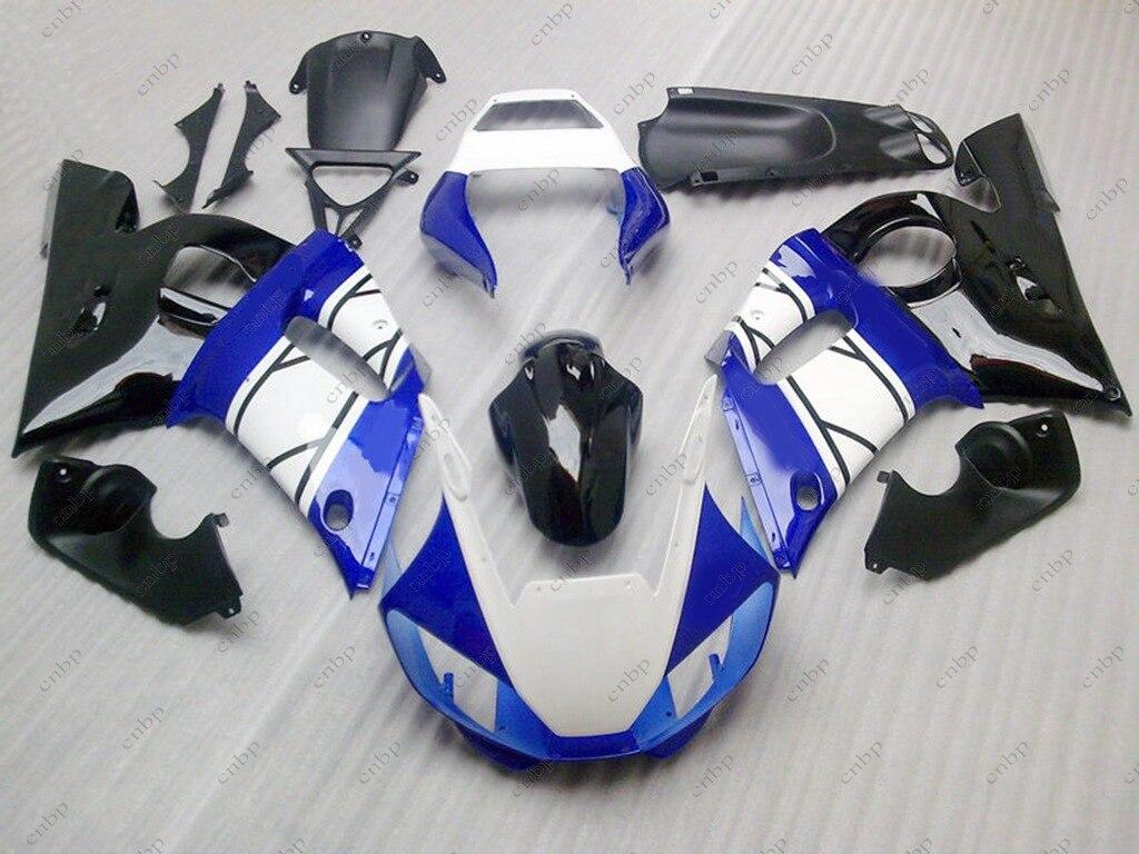 Plastic Fairings YZF600 R6 98 99 Body Kits YZFR6 00 01 1998 - 2002 Blue White Black Full Body Kits YZF600 R6 01 02