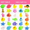 20 Pçs/set Bonito Brinquedos Do Banho Do Bebê Pato De Borracha Macia Animal Float Squeeze Som Mini Wash Bath Jogar Brinquedos Educativos para Crianças brinquedos