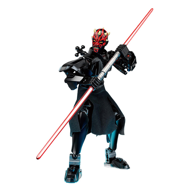 Star Wars Buildable Figure Stormtrooper Darth Vader Kylo Ren Chewbacca Boba Jango Fett General Grievou Action Figure Toy For Kid 3