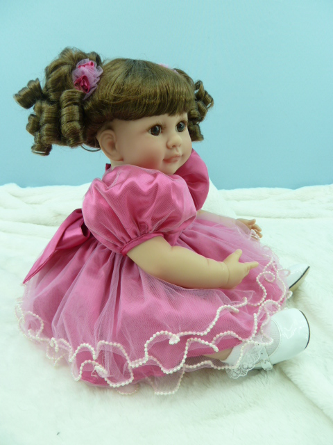 50cm Silicone reborn baby dolls lifelike 20inch princess toddler girls babies doll toy kid fashion christmas gift play house toy