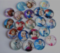 30pcs Elsa Anna Princess Snow White, Rapunzel,Princess Tiana,Ariel, Cabochon 20mm Flatback for Necklace bracelet DIY accessory