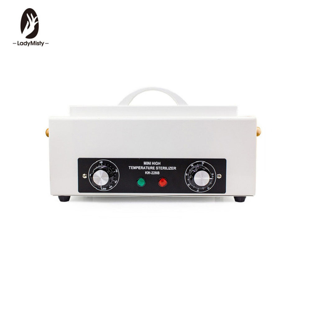 Dry Heat High Temperature Sterilizer High temperature Nail Art Equipment Salon Sterilizer Box Portable Sterilizing Manicure Tool