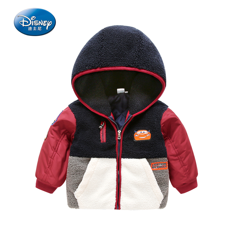 Disney Hooded Coat Parkas Kids Boys 2 Color Winter Parkas Children Warm Thick Boys Outwear Jacket Children's Clothing joobox brand 2017 winter jacket men warm thick coat hat detachable cotton parkas mens hooded outwear jaqueta masculina invernos