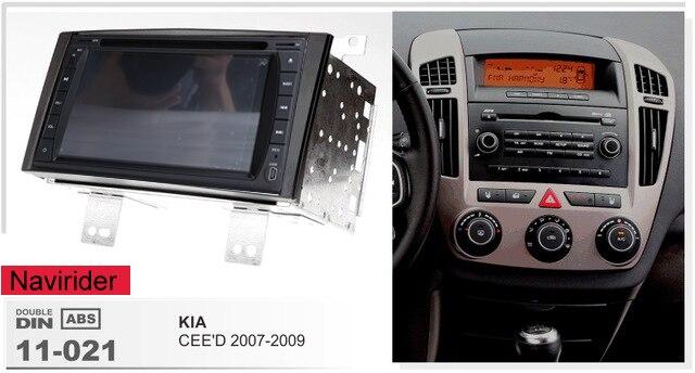(Cadre + série DVD) convient pour Kia Ceed 2007 2008 2009 2010 Navirider octa core Android 8.0 unités de tête radio lecteur multimédia GPS