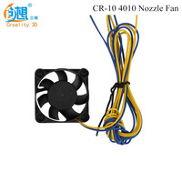 Creality 3D Printer Part CR-10 Nozzle Cooling Fan 40MM 12V DC Small Cooling Fan For CR-10 3D PRINTER PART