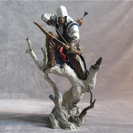 26cm Connor Kenway Assassin's Creed 3 The Hunter Figurine Connor Figure action & toy figures PVC Model Collection connor