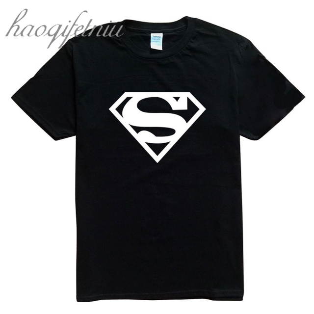 T-shirt Men Black Justice League Superhero