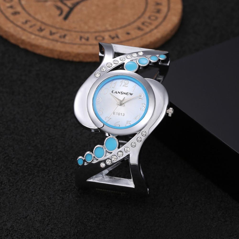 New design women bangle wristwatch quartz crystal luxury relojes rhinestone fashion female watches hot sale eleagnt mujer watch 20