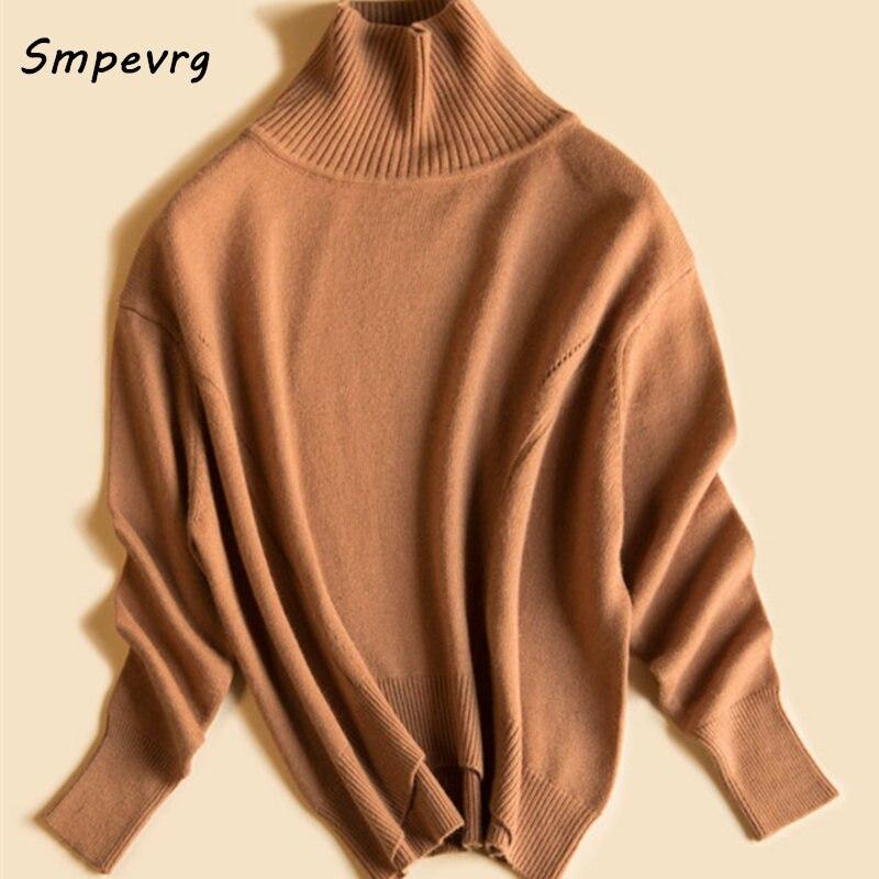 KamelWeinrot Stil Damen Stehkragen Frauen Pullover Gold Pullover Smpevrg Neue Und Pullover Warme Clothig Langarm Gestrickte OkXZiuP