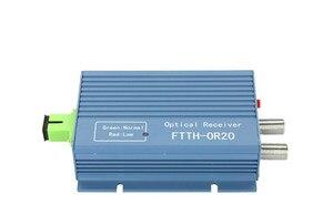 Image 2 - Catv ftth 수신기 agc micro sc apc 듀플렉스 커넥터 (pon ftth or20 catv 광섬유 수신기 용 2 출력 포트 wdm 포함)