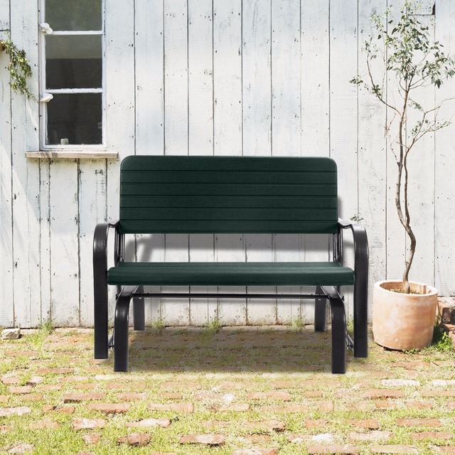 outdoor patio swing veranda rocker zweefvliegtuig bench loveseat