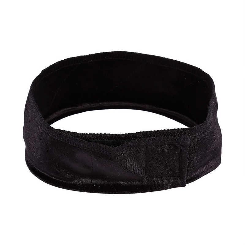Mayitr 1 шт. Вельветовая повязка для волос Регулируемый гибкий бархатный тканевый парик сцепление шарф головной ремень застегнуть парик 3 цвета