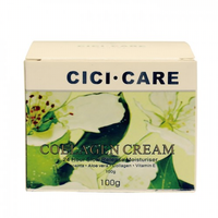 CiciCare Pear Blossom COLLAGEN Placenta Moisturiser Cream Minimize Dark Spots Discolorations Improve Skin Elasticity Skin Tone