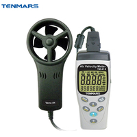 TM 413 Anemometer Air Flow Meter Wind Speed Tester