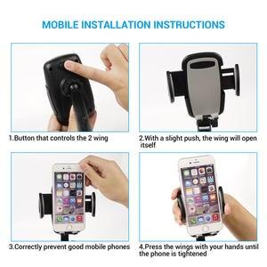 Image 4 - Turata universal suporte do telefone carro soquete isqueiro carro montar carregador 5 v/3a 2 portas usb para iphone x telefone inteligente