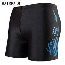 Professional Quality Waterproof mens swimming trunks swimwear male swimming trunks swimming briefs shorts men Bathing Suit
