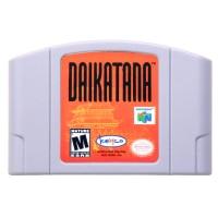 N64Game Daikatana Video Game Cartridge Console Card English Language US Version