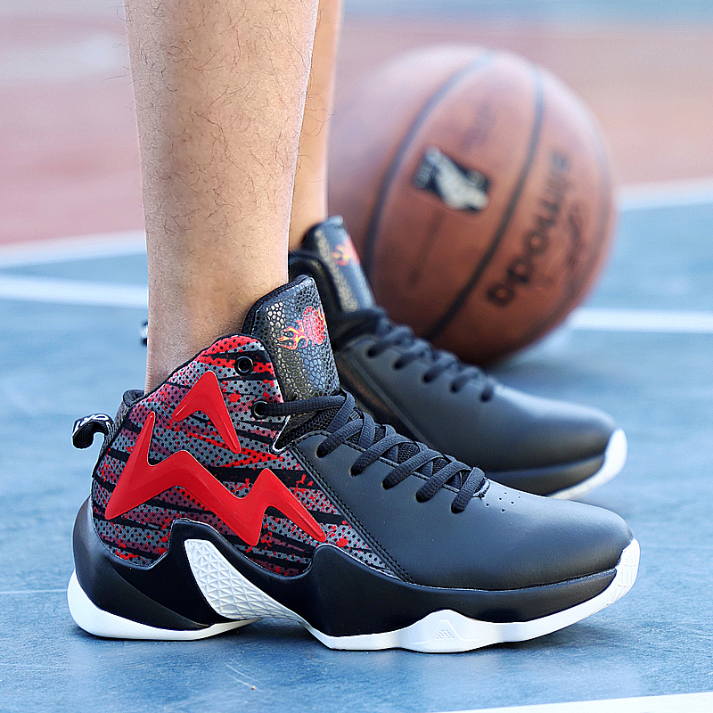 Designer Basketball Shoes 2019 High Top Gym Training Boots Ankle Boots Outdoor Men Sneakers Athletic Sport chaussure Homme
