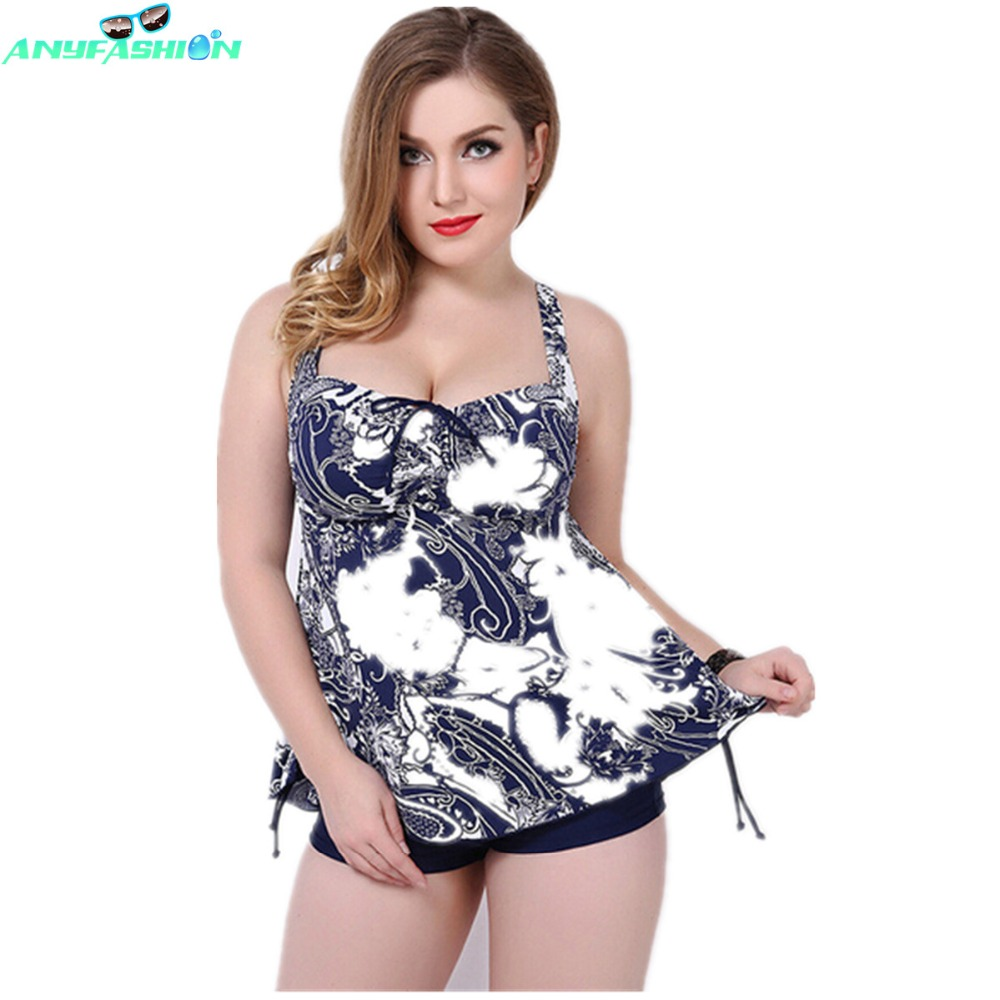 Bathing Suits Women Sexy Two Piece Swim Suits Plus Size Swim Suit Backless Printed -7588