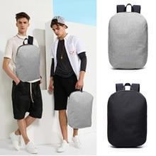 Водонепроницаемый рюкзак для ноутбука 15,6 дюйма, мужские дорожные ранцы для подростков, мужской ранец на плечо для студентов колледжа и школы