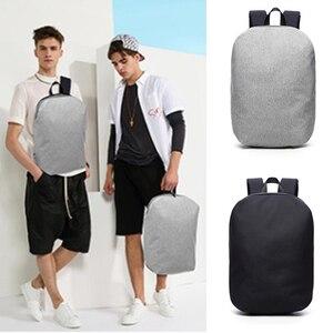 Image 1 - 新しい防水 15.6 インチのラップトップバックパックバッグ男性バックパック旅行十代の肩バックパック男性大学生スクール mochila