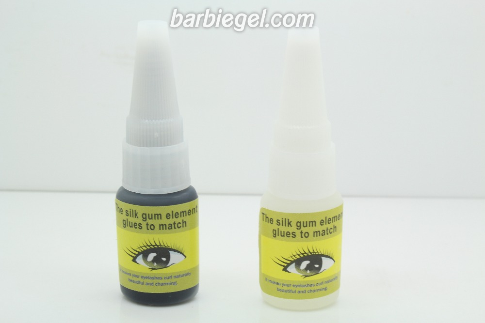 New 2pcs lot 15ml Professional Black Clear Viscous Strong Eyelashes Extension Glue Eye Beauty font b