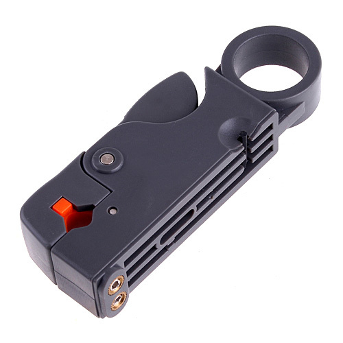Networking Tools Rotary Coaxial Cable Wire Stripping Stripper Cutter Stripper for RG-58/59/62/6/6QS/3C/4C/5C Cables