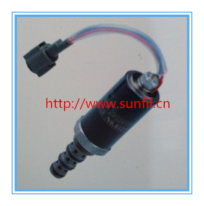 Excavator solenoid valve HD820-2-3 swing rotary solenoid valve KWE5K-20/G24Y05,Free shipping solenoid valve yn35v00051f1 kwe5k 31 g24yb50 fits for kobelco sk200 8 sk 8 series free shipping