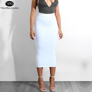 c3b0505239d NewAsia Garden High Waist Long Skirt Summer Skirts Womens