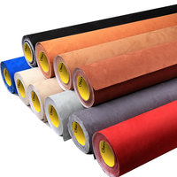 Carbins self adhesive fabrics for car interior styling color changing roof fabric good stretch