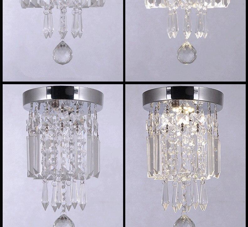 Lustre de cristal italiano para teto, luminária