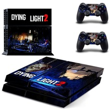 Game Dying Light PS4 Skin Sticker Decal Vinyl for Sony Playstation 4 Console and 2 Controllers PS4 Skin Sticker