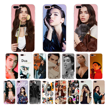 цена на Dua Lipa Popular singer Cover Soft Phone Case for Apple iPhone 5 5S 6 7 6S 8 Plus X XS MAX XR SE 10 silicone Shell coque Funda