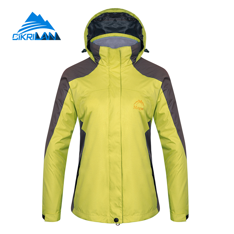 Hot Sale Hot Sale Warm Water Resistant Coat 2in1 Camping Outdoor Jacket Women Winter Hiking With Fleece Inner Chaquetas Mujer hot sale water resistant outdoor sport hiking camping trousers warm softshell pants women windproof climbing pantalones mujer
