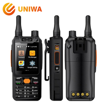 Uniwa Alps F25 Zello Walkie Talkie Mobile Phone MTK6735 Quad Core 1GB+8GB ROM GSM/WCDME/LTE Signal Booster Android Smartphone