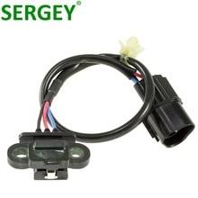 SERGEY Brand New High Quality Crankshaft Position Sensor MD187066 MD-187066 For MITSUBISHI Montero 3.5L 3.8L цена в Москве и Питере