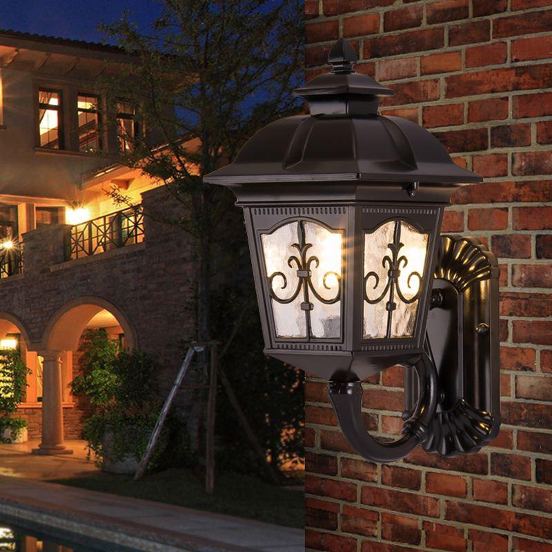European style outdoor lamp villa corridors balcony garden waterproof garden Wall Lamps LO7265 european style outdoor lamp villa corridors balcony garden waterproof garden wall lamps lo7265