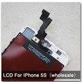 LCD дисплей в сборе с тачскрином для  iPhone 5S. 100% без битых пикселей(качество AAA)