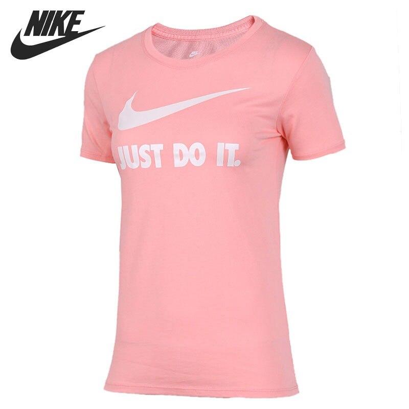 336f46b9 US $33.93 32% OFF|Original New Arrival NIKE CREW JDI SWSH HBR Women's T  shirts short sleeve Sportswear-in Running T-Shirts from Sports &  Entertainment ...