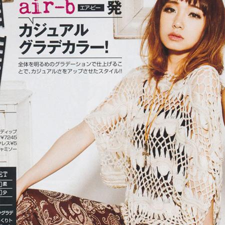 Caliente venta de primavera y verano revista moda más tamaño sueltan la manga hechos a mano del recorte mujeres crochet el suéter camisa de la señora