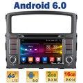 """7 """"Quad Core 2 GB RAM 4G LTE SIM WIFI Android 6.0 de DVD Del Coche reproductor de radio estéreo para mitsubishi pajero v97 v93 2006-2015 bt usb aux"""
