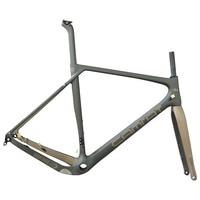 Road carbon bike frame, men's grit GR030 bike frame, accept custom paint frame