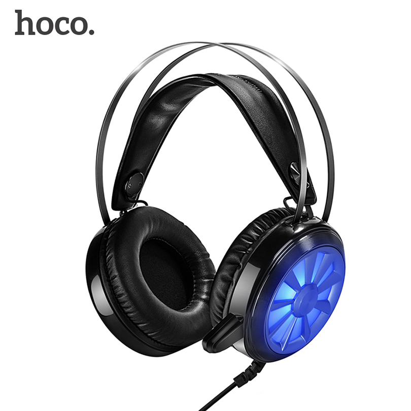 2017 HOCO Professional Wired gaming headset  Bass Stereo Game Earphone Computer headphones with mic For Phone Computer PC PS4 кольцо алмаз холдинг женское золотое кольцо с изумрудами alm1010203758 17