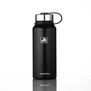 Image 4 - 600/800/1100/1500 Ml Double Wall Thermos Cup Roestvrijstalen Thermoskan Isolatie Fles Voor Water flessen Sport Shaker Mok